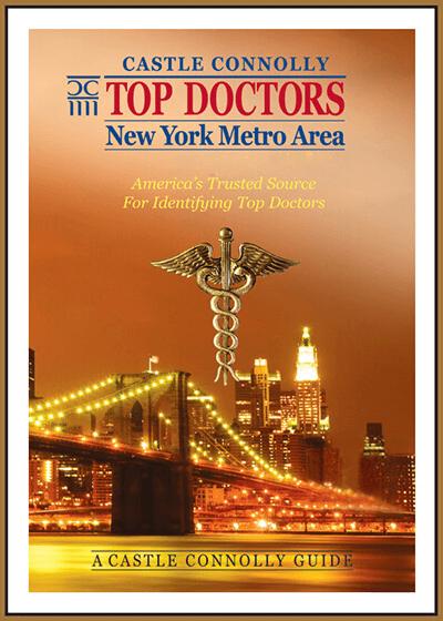 Castle Connolly Top Doctors of New York Metro Area award