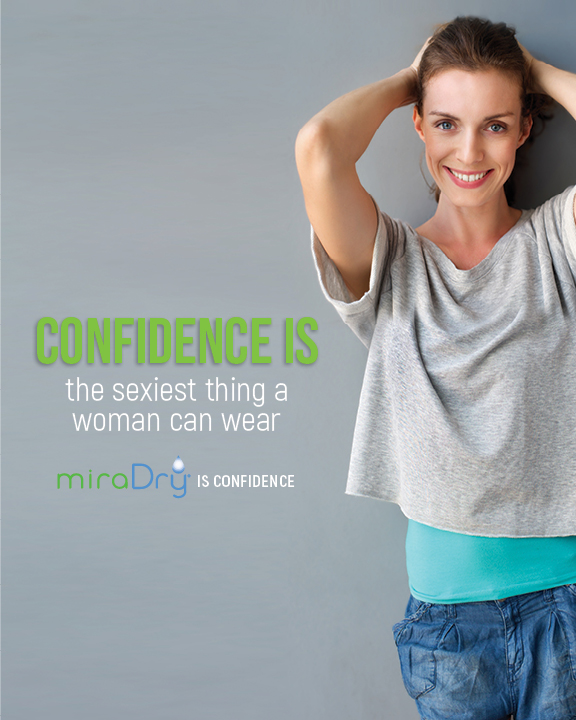 miraDry is confidence and miraDry patient
